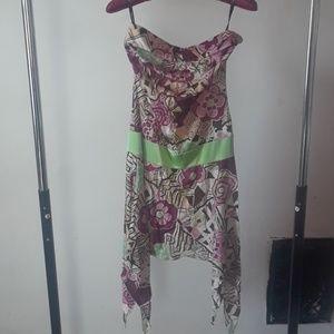 Tube top dress/ top